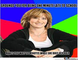 Sheltering Suburban Mom Meme by trollface15 - Meme Center via Relatably.com