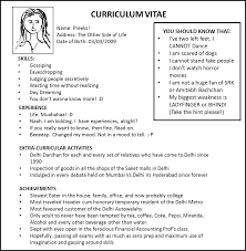want to make my resume exons tk category curriculum vitae