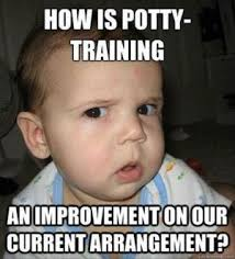 How is Potty-training an Improvement on our current arrangement?