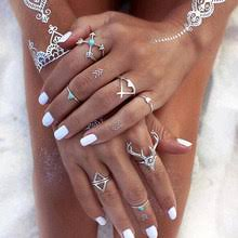 Best value A <b>Set</b> of Rings in <b>Bohemian</b> Style – Great deals on A <b>Set</b> ...