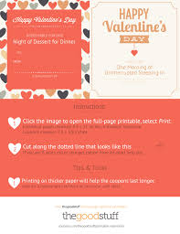 exclusive printable valentine thegoodstuff valentine coupon