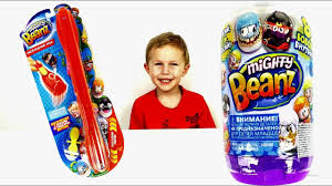 Распаковываем игрушки крутые бобы <b>Mighty Beanz</b>. Мистер сын ...