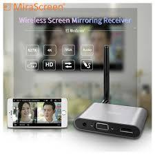 Mirascreen X6W Plus 5G <b>4K anycast Miracast</b> Wireless DLNA ...