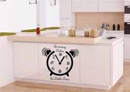 Wall Decals So Many Cakes so Little Time Alarm Cafe by CozyDecal