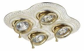 Встраиваемый <b>светильник Novotech</b> Vintage <b>370179</b> купить в ...