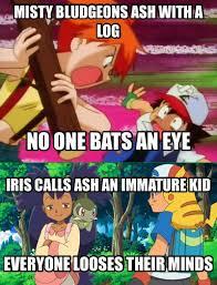 Misty and Iris (Joker Meme, Pokemon) by orionpaxg1 on DeviantArt via Relatably.com