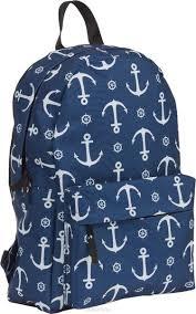 Купить <b>№1 School Рюкзак молодежный</b> Якори - детские товары ...