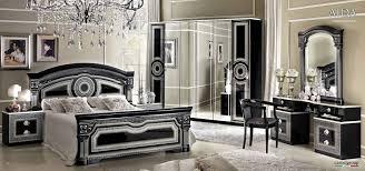 Mirrored Furniture Bedroom Sets Black And Grey Bedroom Furniture