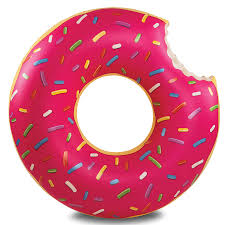 <b>Круг надувной Strawberry</b> Donut <b>BIGMOUTH</b> BMPF-0003 купить с ...
