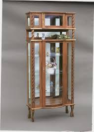 amish wood furniture curio amish wood furniture home