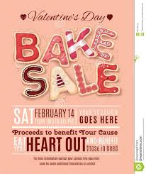 valentines day bake flyer template from over  hand drawn decorated cookies that say bake for a valentine s day promotion on a flyer brochure poster template layout