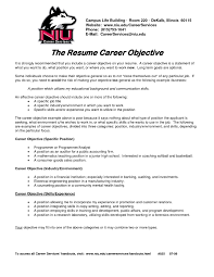 resume first job objective examples make resume cover letter career objective examples for resume