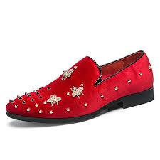 <b>Allwesome</b> New <b>Fashion</b> Metal Toe <b>Men</b> Velvet Dress Shoes Italian ...