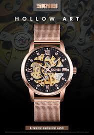 <b>SKMEI</b> 9199 Fashion Brand <b>Men</b> Luxury <b>Automatic Mechanical</b> ...