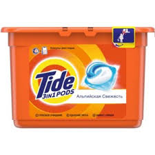 Гель <b>капсулы Tide</b> Альпийская свежесть | Отзывы покупателей