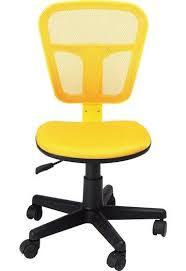homycasa armless swivel office mesh computer desk chair yellow amazing yellow office chair