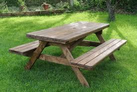Tavolo Da Terrazzo In Legno : Tavoli in legno per giardino con panche tavolo da