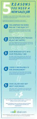 reasons you need a new s job infographic 5 reasons you need a new s job