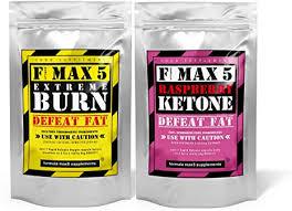 FMax5 <b>Fat Burner Plus</b> Raspberry Ketones Combo Capsules, 60 ...