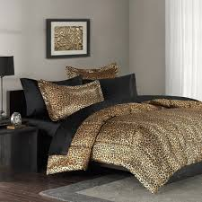 cheetah print bedroom set