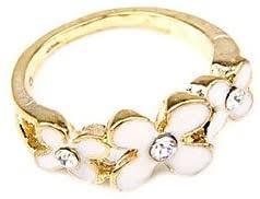 Ruisilp Korean Fashion Jewelry Clover Flower Ring ... - Amazon.com