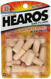 Hearos <b>Ultimate Softness</b> Series Foam <b>Earplugs</b>, 20-Pair   <b>Ear plugs</b> ...