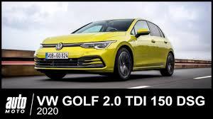 2020 <b>VW</b> GOLF 2.0 TDI 150 <b>Style</b> ESSAI POV <b>Auto</b>-Moto.com ...