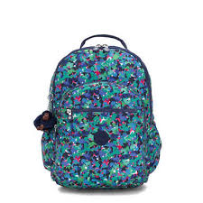 "Seoul Go <b>Extra Large</b> Printed 17"" Laptop <b>Backpack</b> | Kipling"