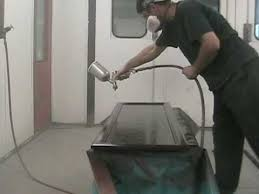 Small Picture How to Spray Paint Kitchen Cabinets YouTube