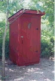 Building Outhouses Construction Plans at WoodworkersWorkshop com  plans woodworking resource from i at   outhouses building site location   woodworking  Outhouse building information