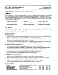 resume examples  examples of a functional resume resume templates    examples of a functional resume for summary and objective   education and skills summary