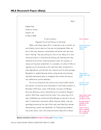 example of a mla essay template example of a mla essay
