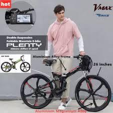 <b>Plenty Electric Bike</b> Folding Ebike Full Aluminium Alloy 21 speed ...