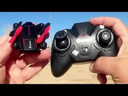 Eachine <b>E59</b> Micro Folding <b>Drone</b> Flight Test Review - YouTube