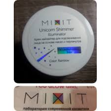 Отзывы о <b>Хайлайтер</b> Mixit <b>Unicorn</b> Shimmer Illuminator
