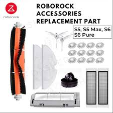 Roborock <b>Accessories</b> Replacement for S50 S51 S55 <b>S5MAx</b> S6 ...