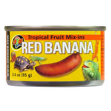 Zoomed <b>Tropical</b> Fruit <b>Mix</b>-ins Red Banana 113gr Aquarium <b>Line</b> ...