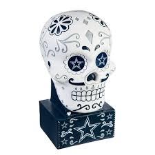 Evergreen Dallas Cowboys Sugar <b>Skull Garden</b> Statue-843808SK ...