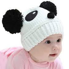 Infant Baby Girl Boy <b>Winter Warm Cute</b> Panda Hat Cap Beanies For ...