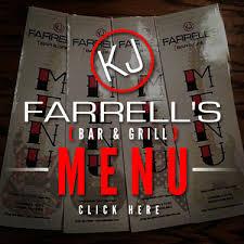 KJ Farrells   Bar and Grill