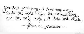Friedrich Nietzsche Quote via Relatably.com