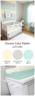 design reveal cool and calm nursery baby room color ideas design