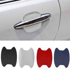 <b>4PCS</b>/<b>set Car</b> Automatic Door Cover Film Handle Scratch Sticker 3D ...