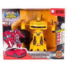 Радиоуправляемый робот <b>Машина</b>-трансформер <b>Maya Toys</b> ...