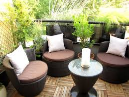 small balcony garden ideas with wicker furniture sets balcony furniture
