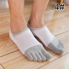 DYDONGWL Socks/5 Pair/Five Finger Toe Socks Men <b>Fashion</b> ...