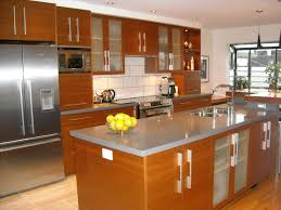 delightful home interior small kitchen design ideas features exciting brown painting kitchens cabinet set and rustic architecture kitchen decorations delightful pendant kitchen