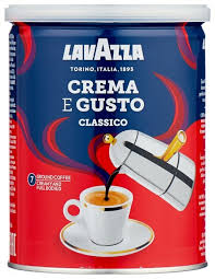 <b>Кофе</b> молотый <b>Lavazza Crema e</b> Gusto жестяная банка — купить ...