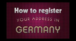 anmeldung the german address registration explained german address registration in german anmeldung
