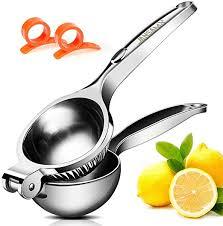 Lemon Squeezer Stainless Steel Citrus Squeezer ... - Amazon.com